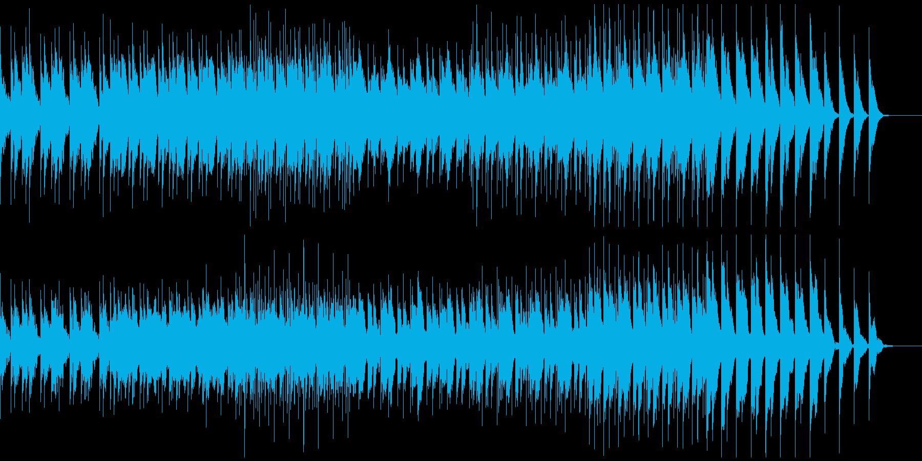 アンビエントっぽいの再生済みの波形