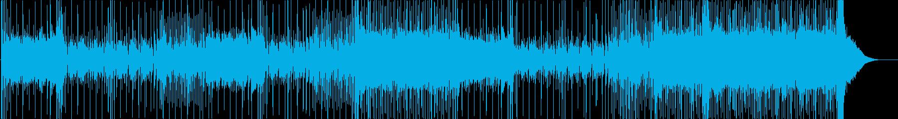 ラテンの再生済みの波形
