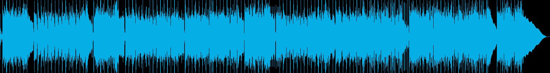 マンドリン、ピアノ、ドラムを伴う、...の再生済みの波形