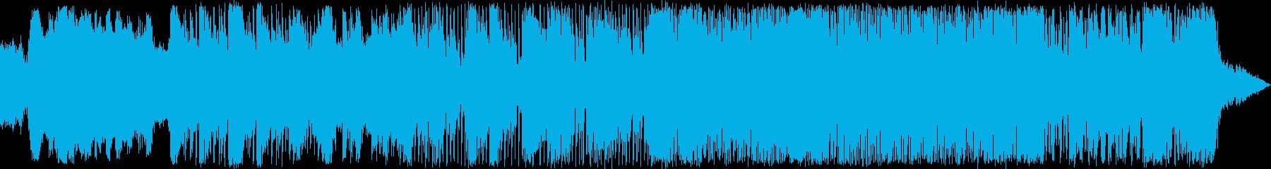 パワフルでムーディーなアートロック...の再生済みの波形