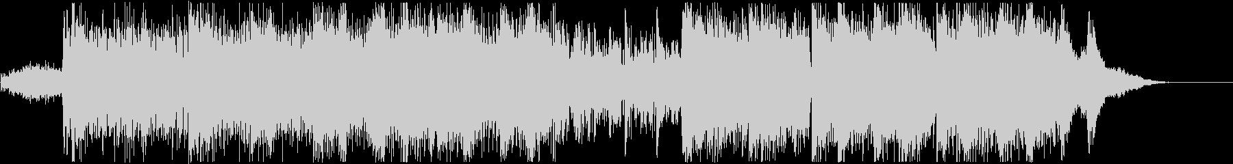現代的なエレクトロビートとピアノの音色での未再生の波形