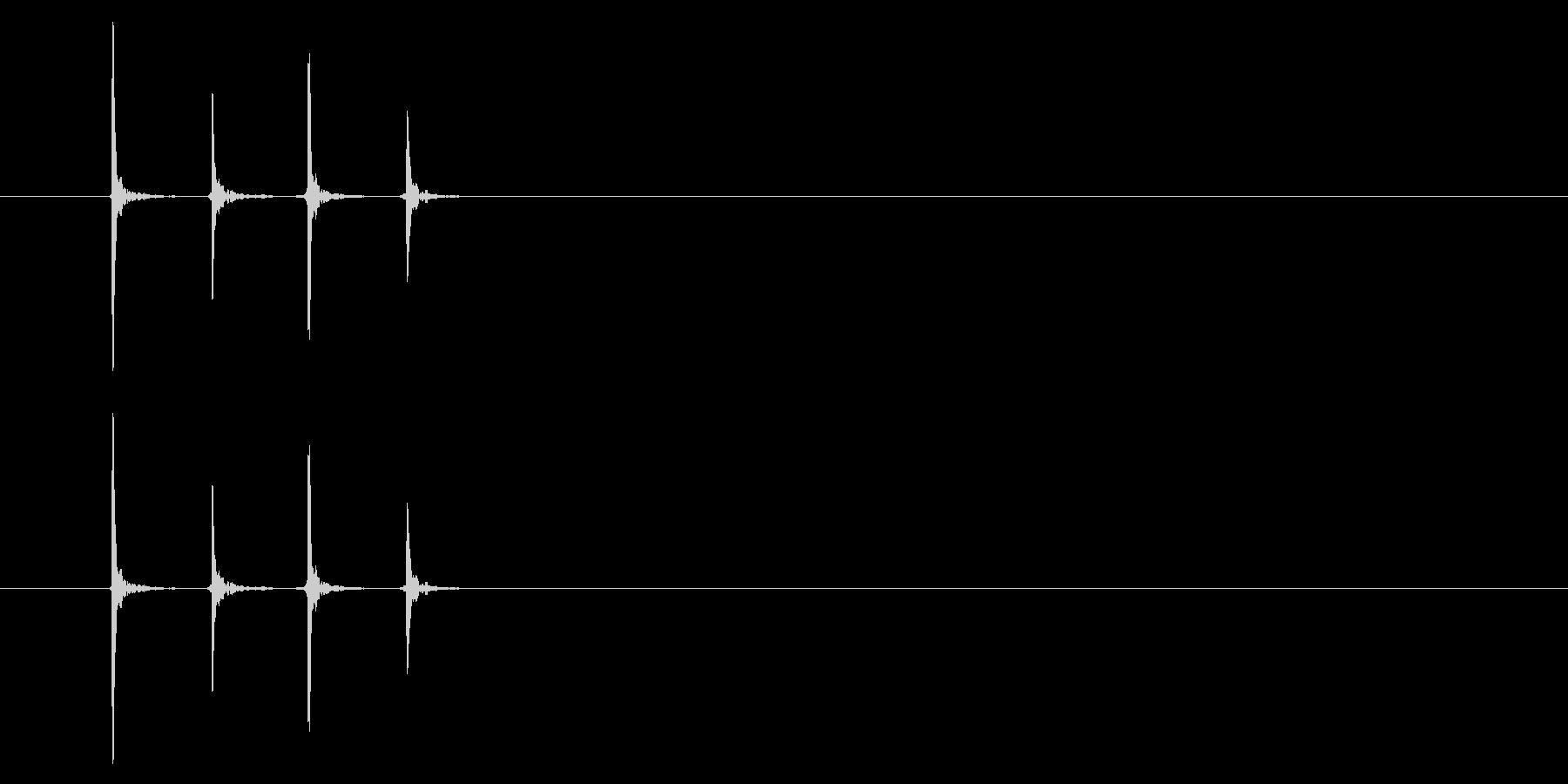 PC マウス02-03(左 ダブル)の未再生の波形