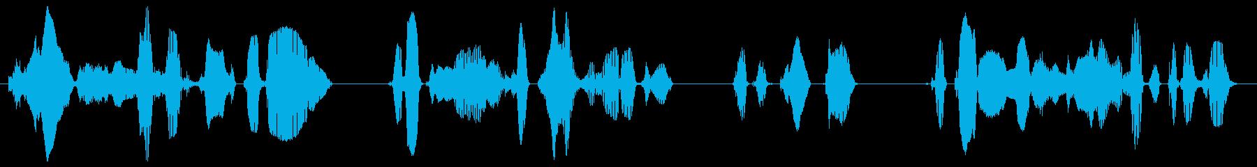 強い地震が発生した場合、ただちにはお席…の再生済みの波形
