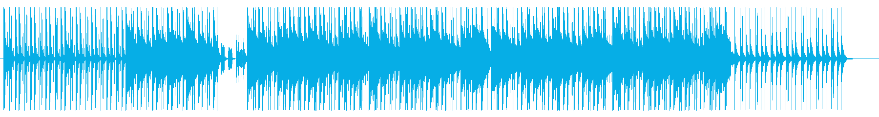 おしゃれで大人っぽいヒップホップ(短め)の再生済みの波形