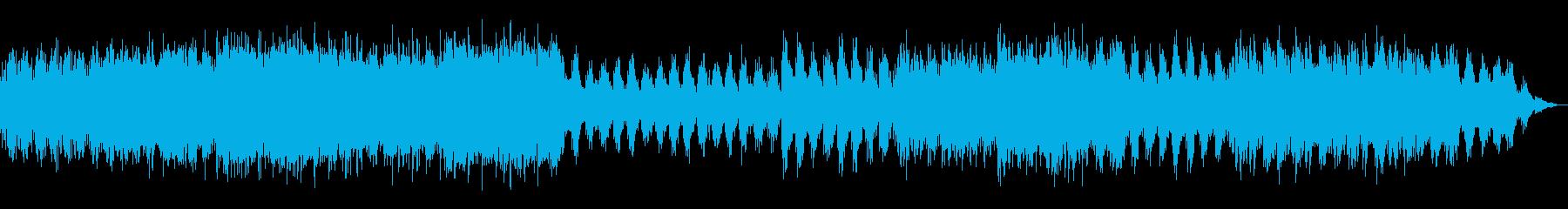 瞑想やヨガ、睡眠誘導のための音楽 10bの再生済みの波形