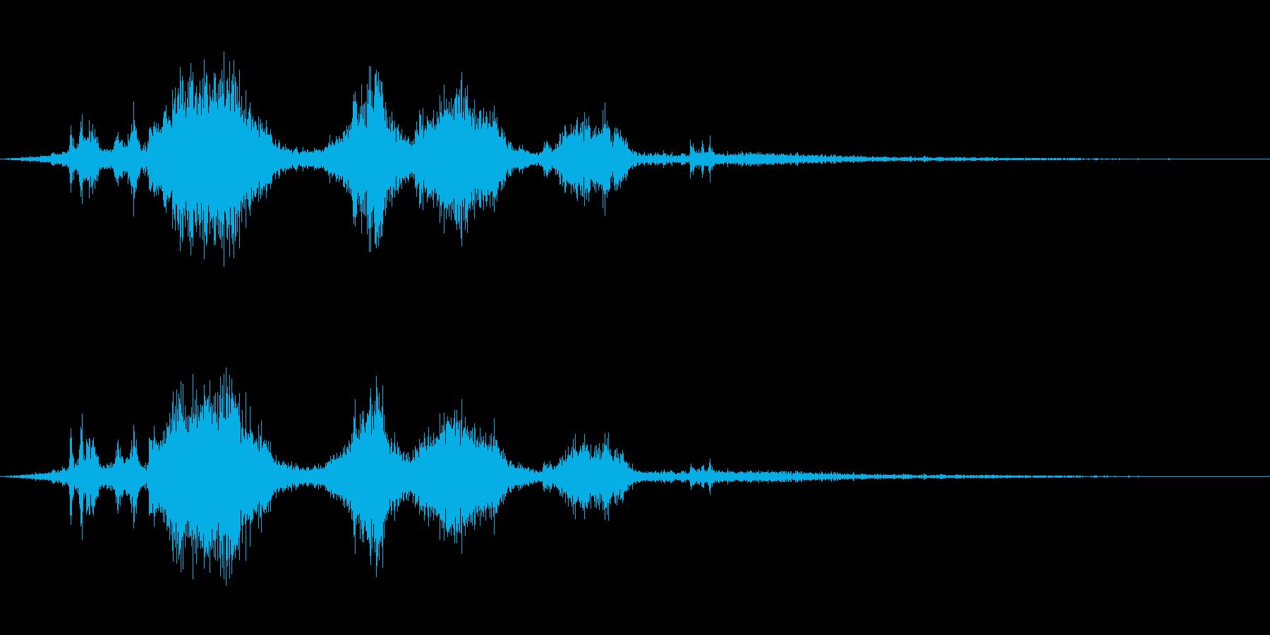 アイスホッケー/スケートスライディング6の再生済みの波形