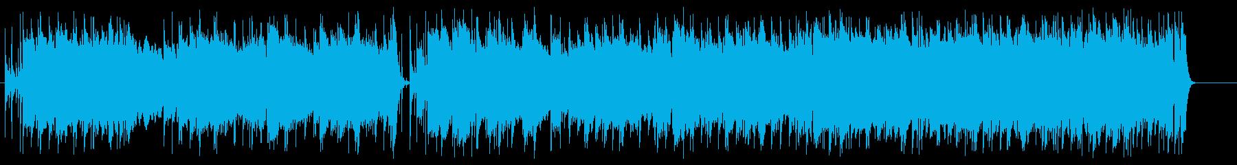 哀愁のニューミュージック風タイトバラードの再生済みの波形