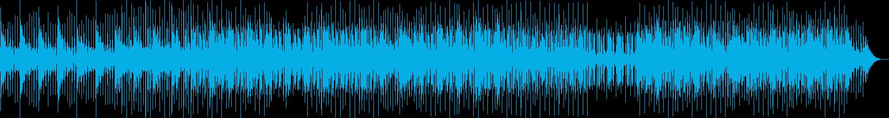 おしゃれで大人っぽいメロディーの再生済みの波形