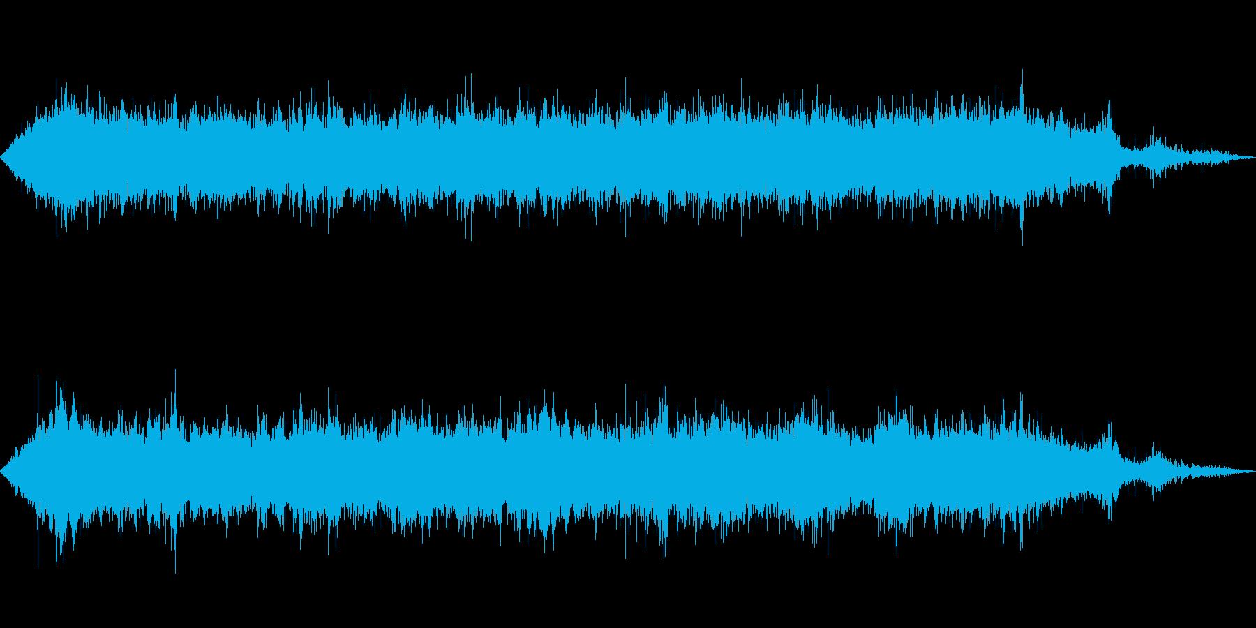 ジェット推進艇:ツインエンジン:オ...の再生済みの波形