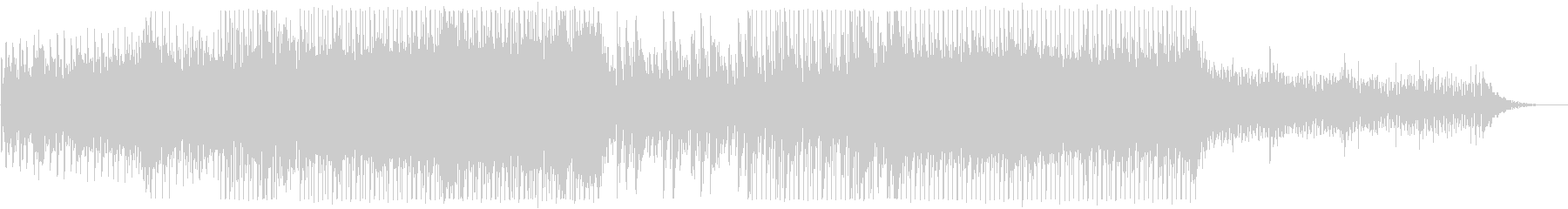 ピアノがきらきら綺麗なBGMの未再生の波形