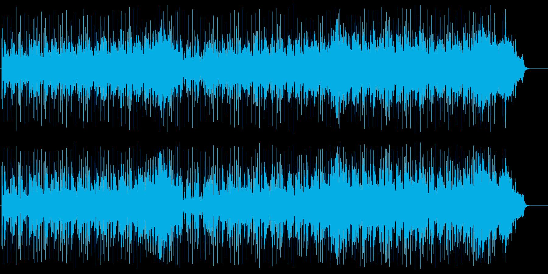 スリムでタイトなクール・アコースティックの再生済みの波形