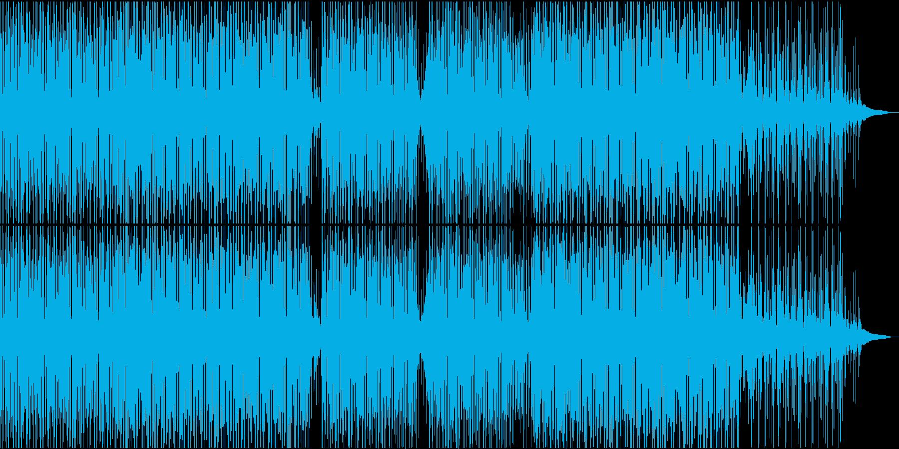 爽やか!エレクトロニックでオーガニック!の再生済みの波形