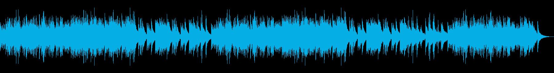 懐かしく切ない印象の和風ピアノソロBGMの再生済みの波形