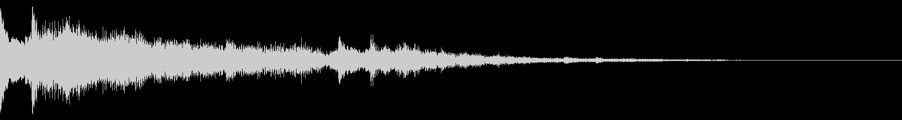 ミステリー(奇妙な現象の時の音)ver5の未再生の波形