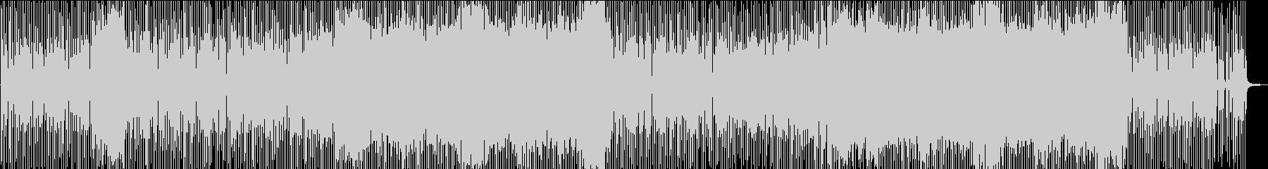 陽気なハウス系ポップスの未再生の波形