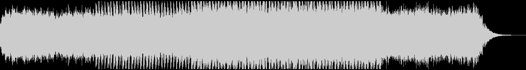 テクノポップなBGMの未再生の波形