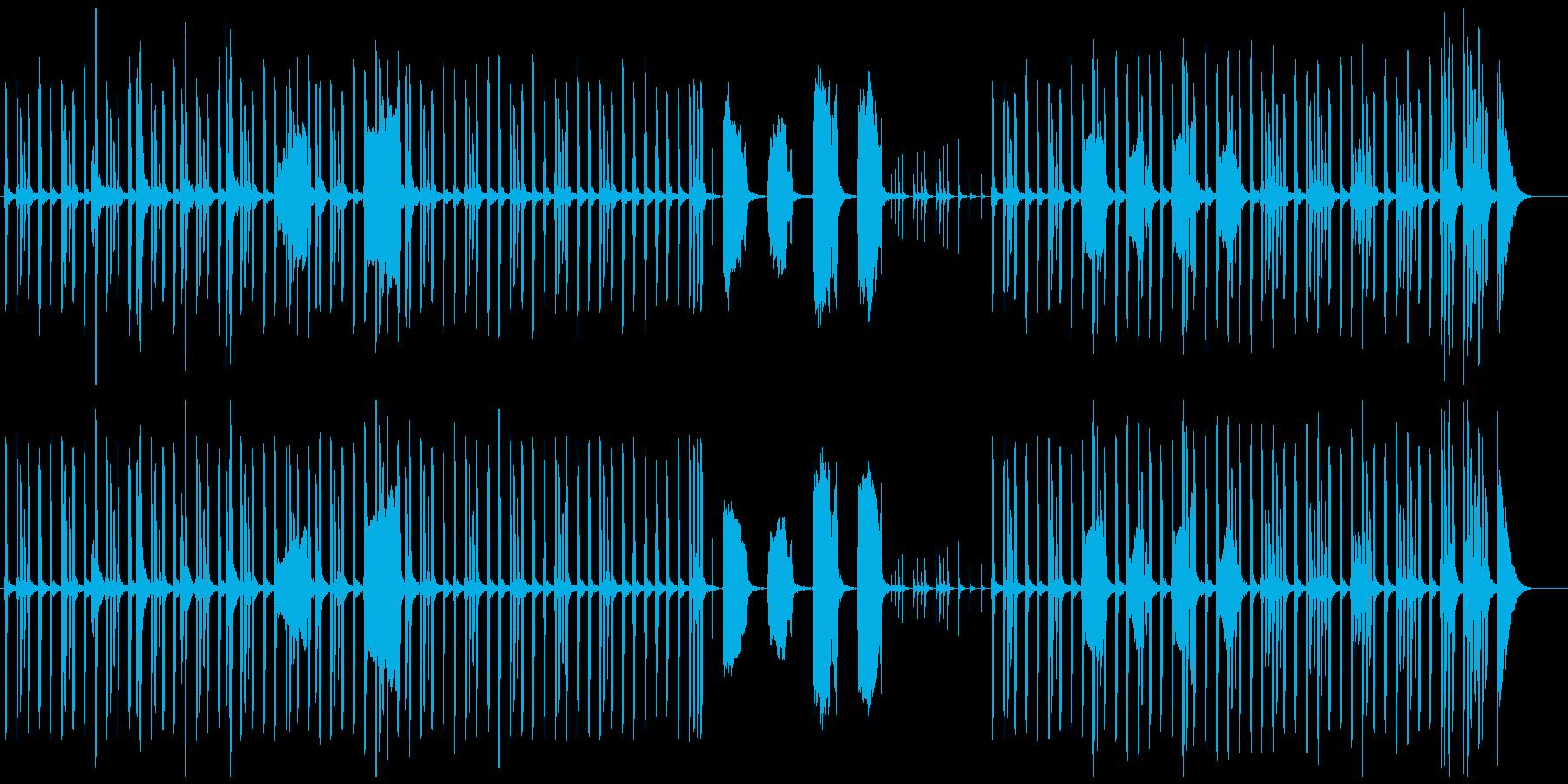 怪しい...疑い..BGMの再生済みの波形