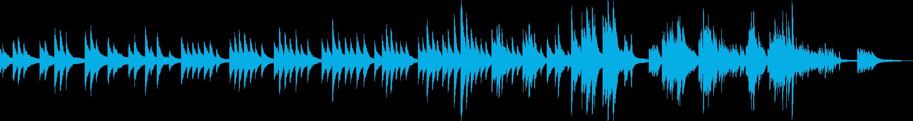 温かくて少し切ない、王道のピアノバラードの再生済みの波形