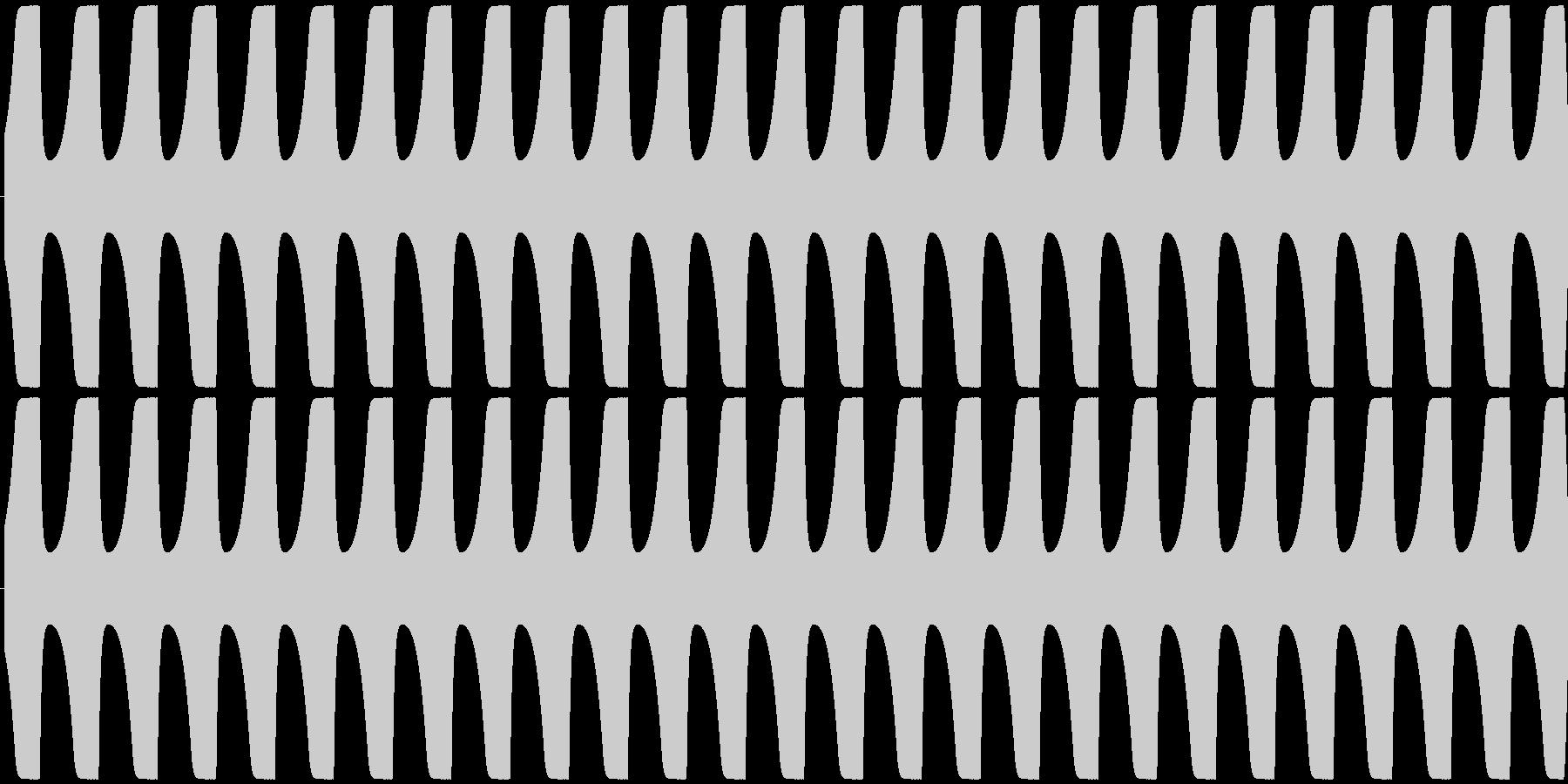 ゲームテキスト効果音A-6(低め 長い)の未再生の波形