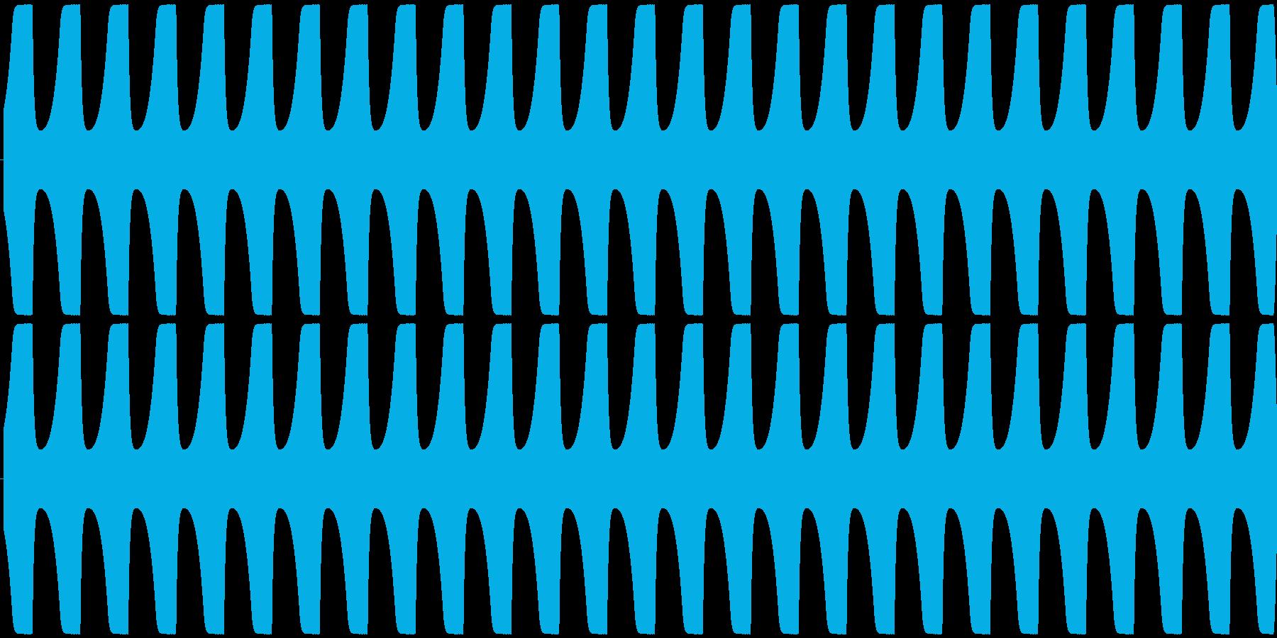 ゲームテキスト効果音A-6(低め 長い)の再生済みの波形