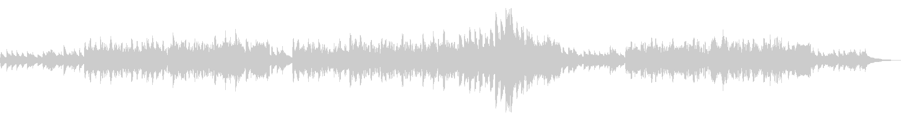 ケルト アイリッシュ ピアノと笛 優美 の未再生の波形