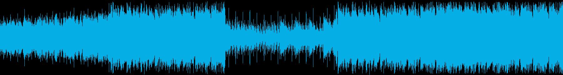 Youtube・おしゃれなR&B・ループの再生済みの波形