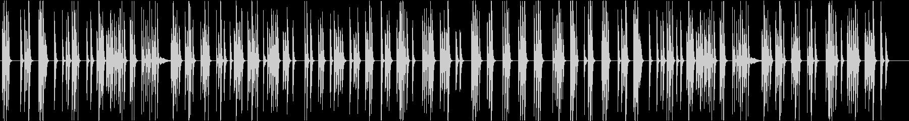 シンプルな暮らし-CM・映像-ピアノの未再生の波形