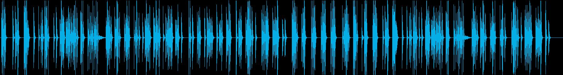 シンプルな暮らし-CM・映像-ピアノの再生済みの波形