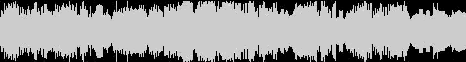 ファミコン風8bitチップチューンの未再生の波形