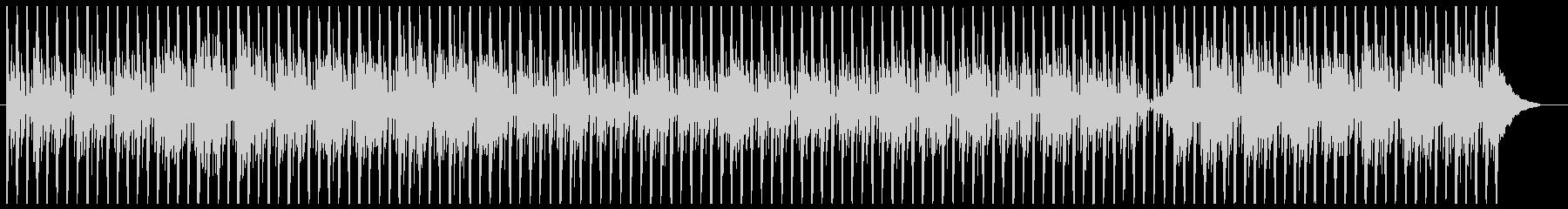 シンプルなテクノ4の未再生の波形
