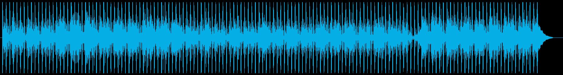 シンプルなテクノ4の再生済みの波形