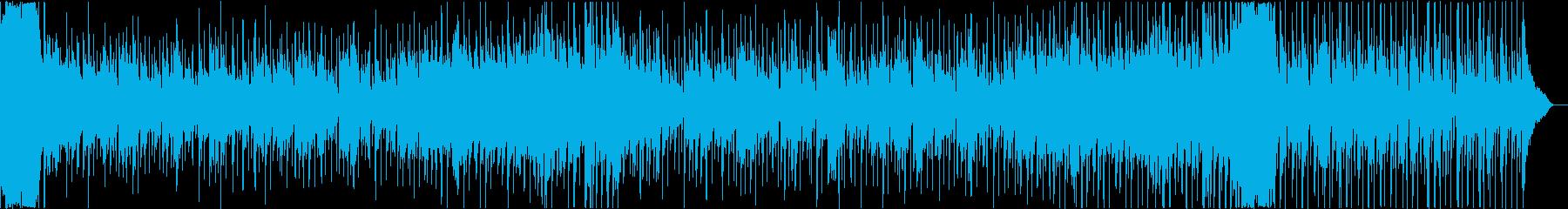 ピアノがメインの優しいBGMの再生済みの波形