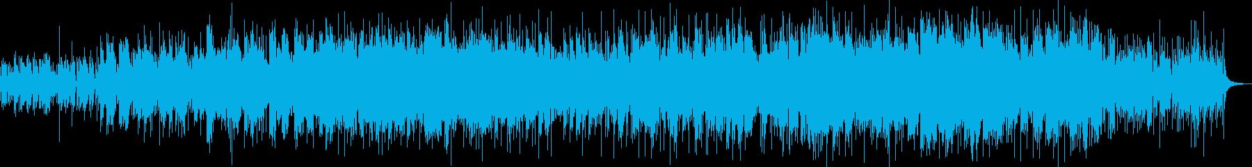 穏やかに奏でるポップ・フォークの再生済みの波形
