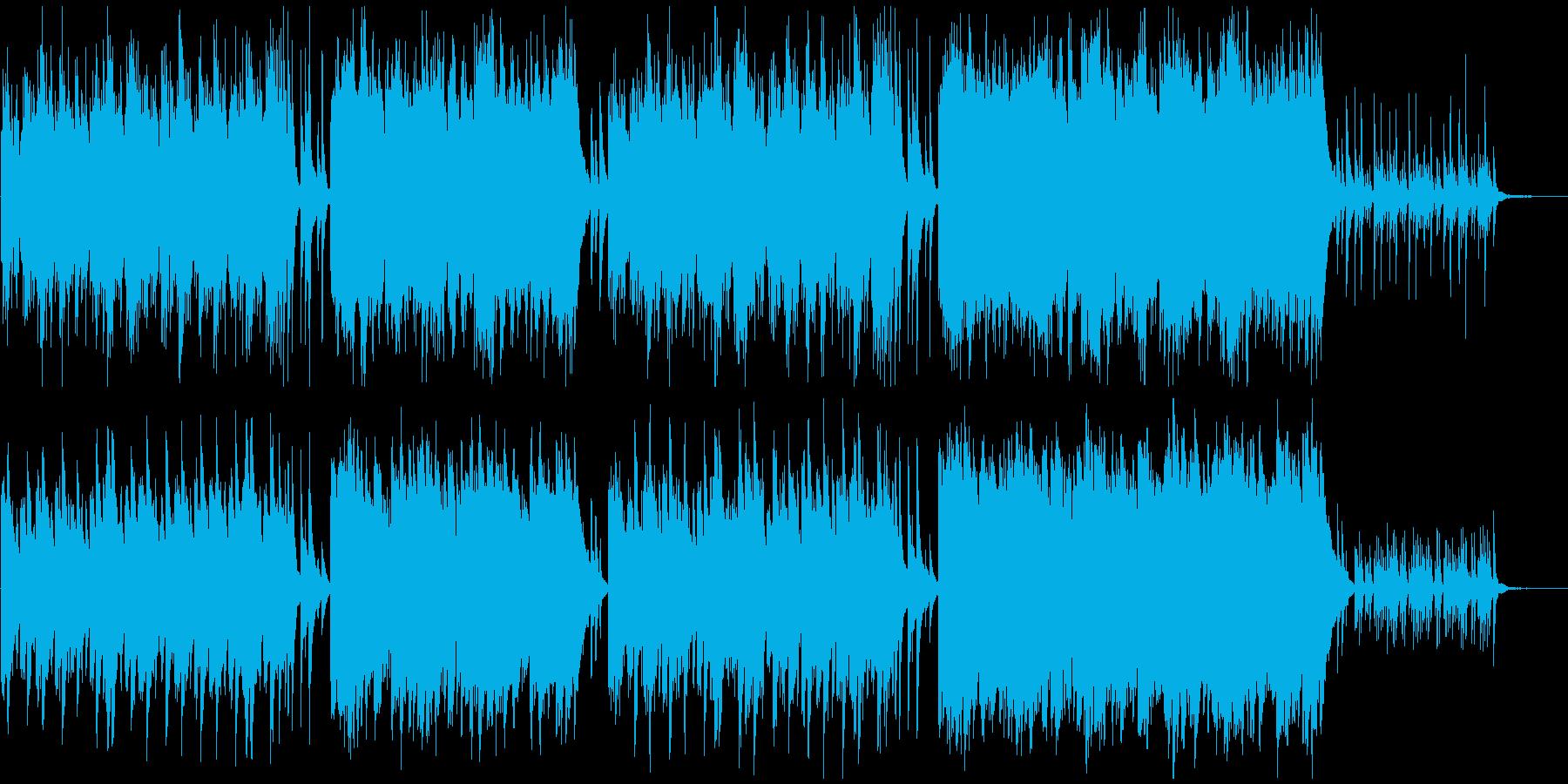 ピアノ感動的ヒーリング癒しウェディングの再生済みの波形