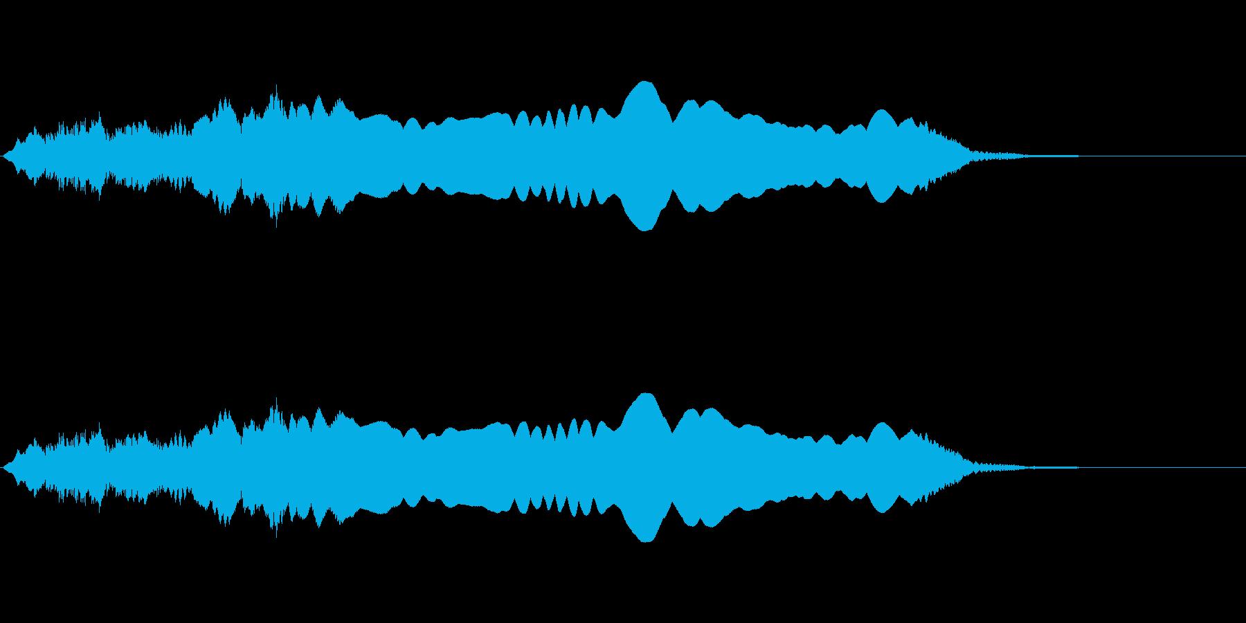 ウゥゥーーーー(サイレン・警報)の再生済みの波形