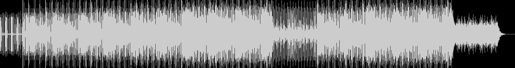 EDMクラブ系アンダーグラウンドテクノの未再生の波形
