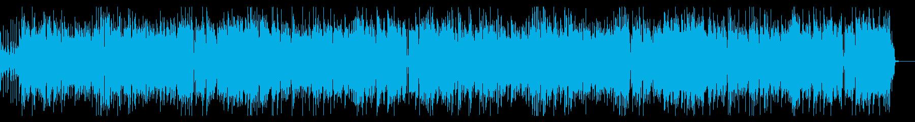 サックスがメインの陽気で軽快な夏BGMの再生済みの波形