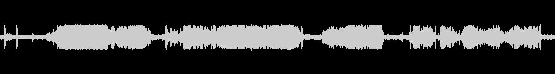 タンクシュートドライブインテリアの未再生の波形