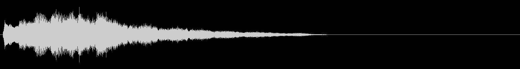 汎用 キラキラ系10(特大) 場面転換の未再生の波形