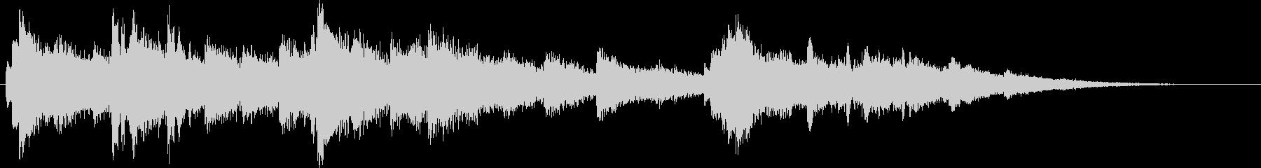 悲しいピアノ15秒CM楽曲。の未再生の波形