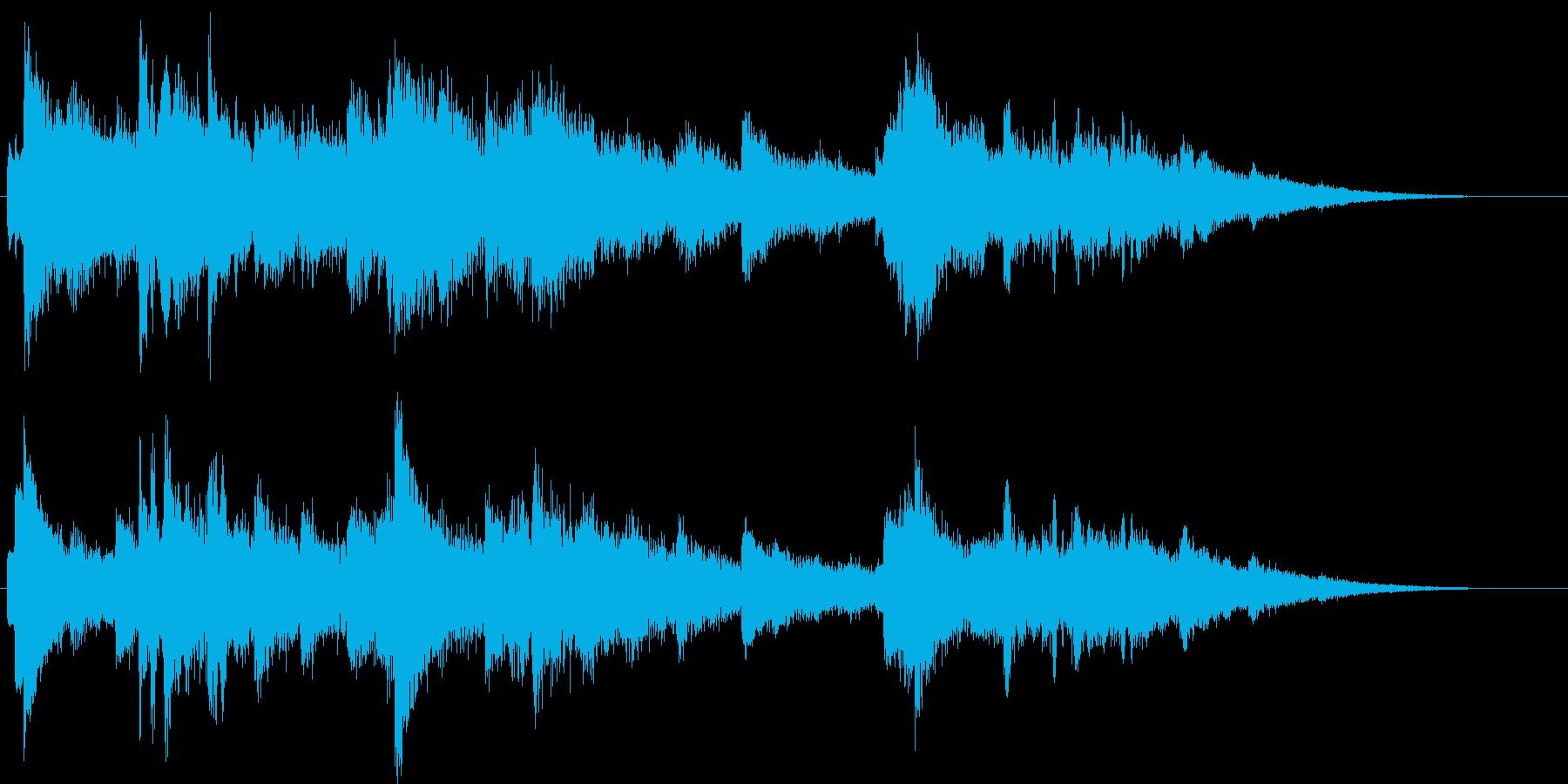 悲しいピアノ15秒CM楽曲。の再生済みの波形