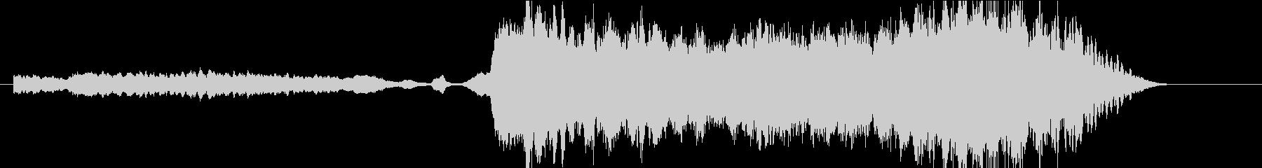 バイオリンの音の場面転換用楽曲01の未再生の波形