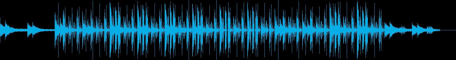 ビートが印象的な落ち着くチルヒップホップの再生済みの波形