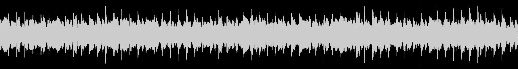 一定で鳴るピアノ/ホラー系(ループ)の未再生の波形