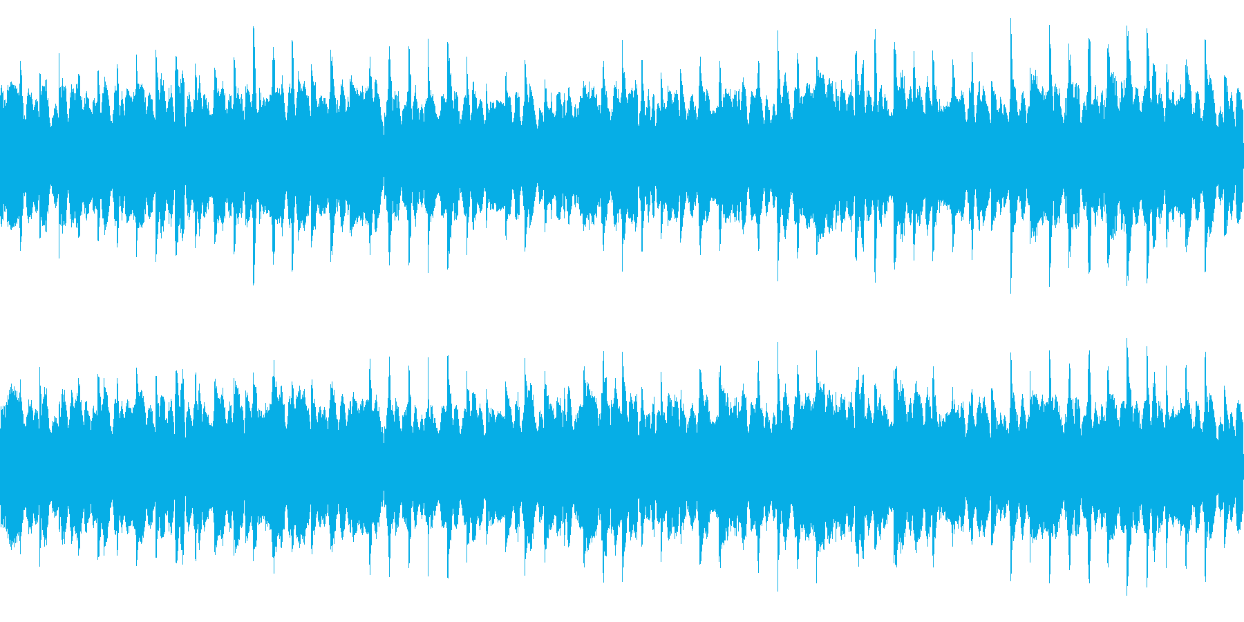一定で鳴るピアノ/ホラー系(ループ)の再生済みの波形