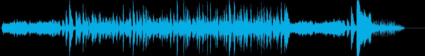うめをテーマにした楽曲の再生済みの波形