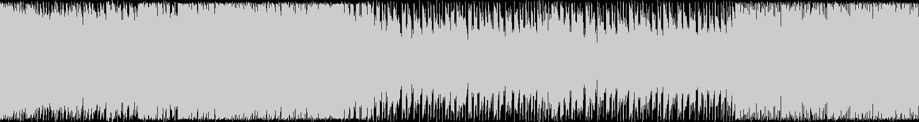 【ループBGM】ハイスピードボスラッシュの未再生の波形