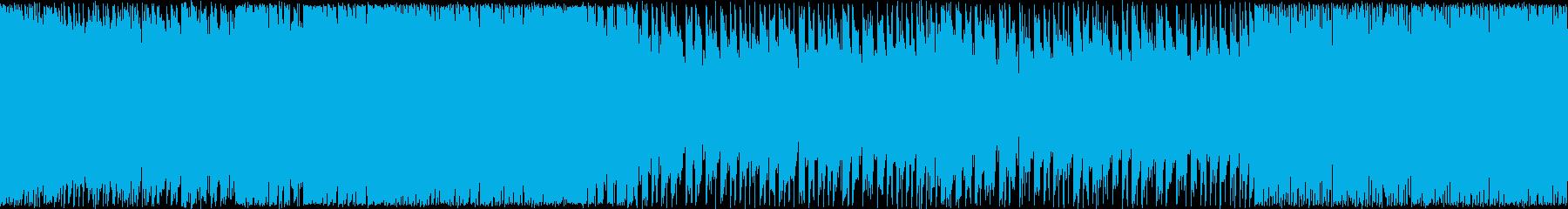 【ループBGM】ハイスピードボスラッシュの再生済みの波形