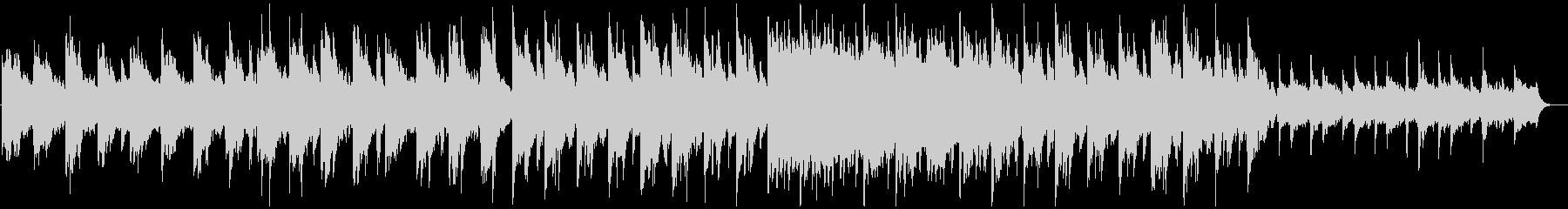 ジブリ調、ドリーミーなピアノのBGMの未再生の波形