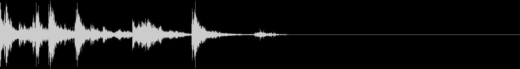 ジャンクパイルに投げられたジャンクの未再生の波形